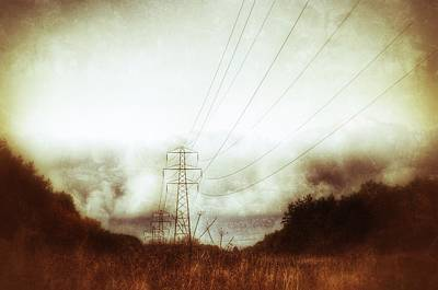 Photograph - Pylon Field by Isabella F Abbie Shores FRSA