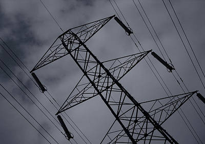 Photograph - Pylon Power by Stewart Scott