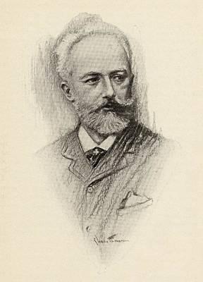 Pyotr Ilyich Tchaikovsky, 1840-1893 Art Print