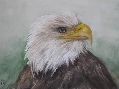 Painting - Pyrague Eagle by Annie Poitras