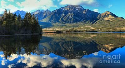 Photograph - Pyramid Lake Panorama by Adam Jewell