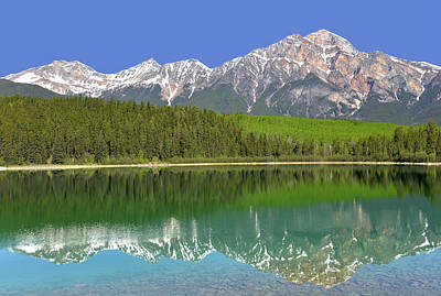 Photograph - Pyramid Lake Reflection by Ginny Barklow
