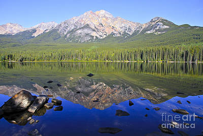 Pyramid Lake Reflection Art Print