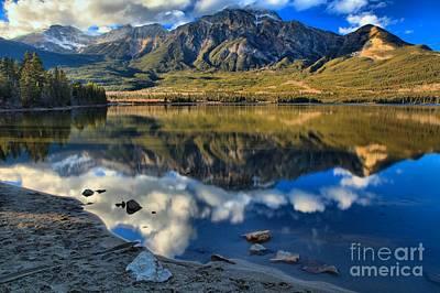 Photograph - Pyramid Lake Resort Reflections by Adam Jewell
