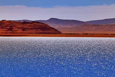 Photograph - Pyramid Lake Winds by SB Sullivan