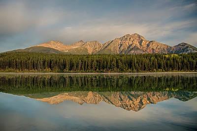 Photograph - Pyramid Mountain 2009 03 by Jim Dollar