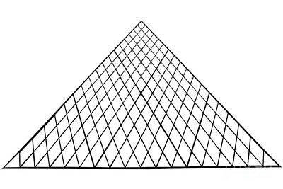 Photograph - pyramid of Paris by Benny Marty