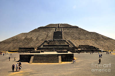 Pyramid Of The Sun Photograph - Pyramid Of The Sun by Andrew Dinh
