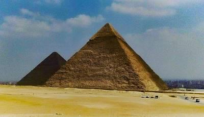 Photograph - Pyramids, Cairo, Egypt by Samuel Pye