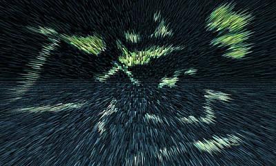 Digital Art - Pyramids by Cathy Harper