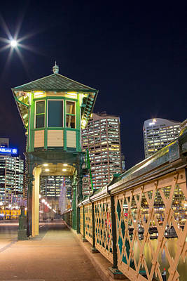 Photograph - Pyrmont Bridge by Nicholas Blackwell