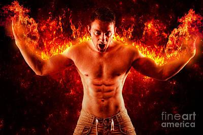 Photograph - Pyromaniac by Yhun Suarez