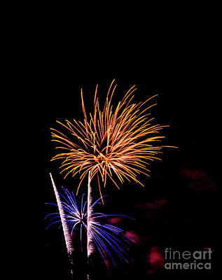Photograph - Pyrotechnics by Suzanne Luft