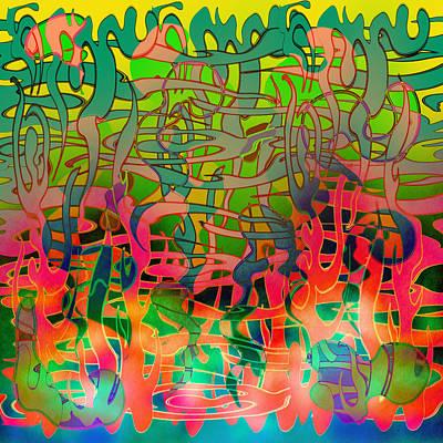 Pyschedelic Alba Art Print by Grant  Wilson