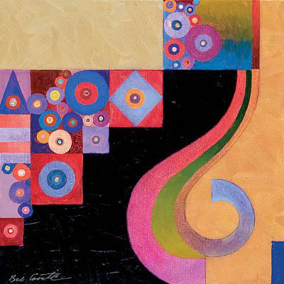Pythagorean Abstract IIi Original by Bob Coonts