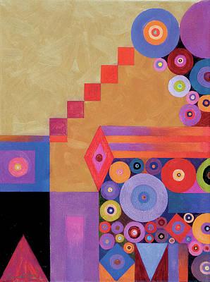 Pythagorus' Abstract I Art Print by Bob Coonts