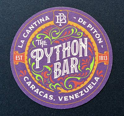 Photograph - Python Bar Caracus Venezuela by David Lee Thompson