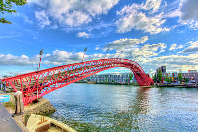 Photograph - Python Bridge by Nadia Sanowar
