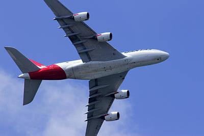 Photograph - Qantas Flyover by Miroslava Jurcik