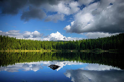 Photograph - Qiet Time At The Lake by Thomas Nay