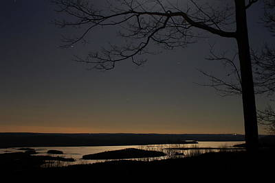 All You Need Is Love - Quabbin Reservoir by Moonlight by John Burk