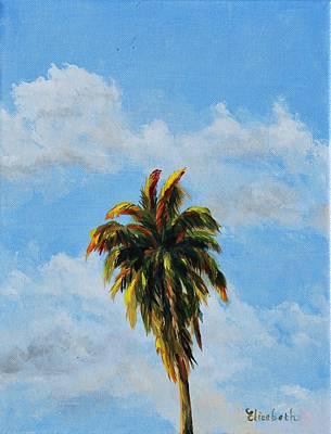 Quad Palms 2 Of 4 Art Print by Beth Maddox