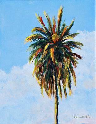 Quad Palms 4 Of 4 Art Print by Beth Maddox
