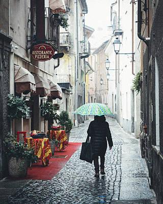 Photograph - Quaint Italian Street by Alexandre Rotenberg
