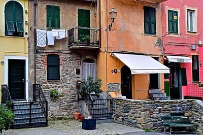 Quaint Italian Town Art Print by Frozen in Time Fine Art Photography