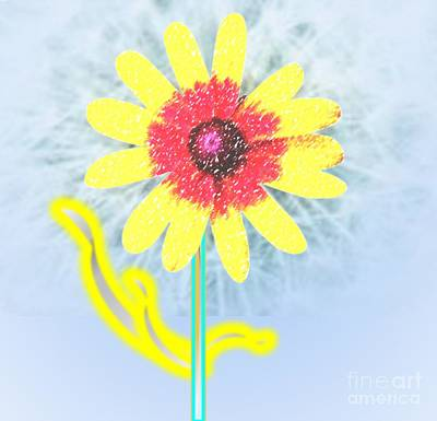 Painting - Quaint Little Daisy by Belinda Threeths