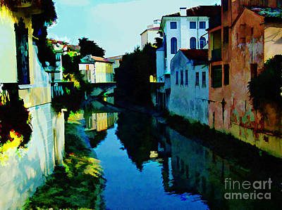 Photograph - Quaint On The Canal by Roberta Byram