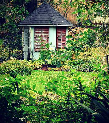 Photograph - Quaint Shack by Cyryn Fyrcyd
