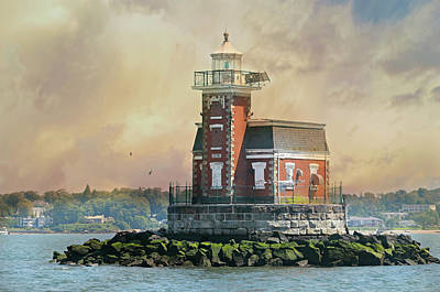 Photograph - Quaint Stepping Stones Lighthouse by Diana Angstadt