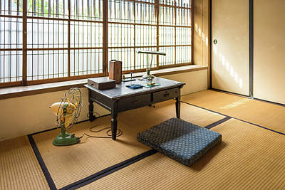Photograph - Quaint Tatami Office by Geoffrey C Lewis