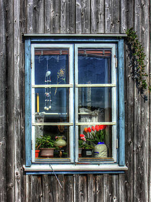 Photograph - Quaint Window by Richard Stephen