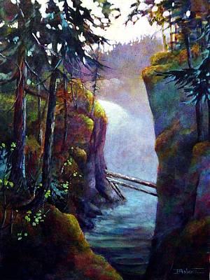 Qualicum Falls Art Print