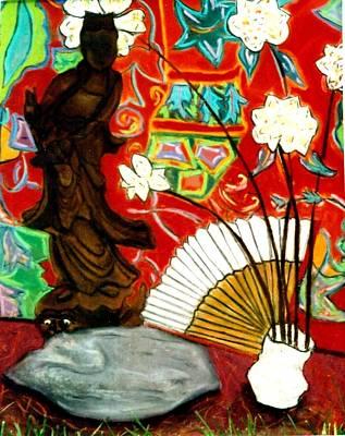 Pastel - Quan Yin by Eliezer Sobel