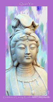 Photograph - Quan Yin Goddess by Marlene Rose Besso