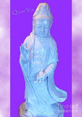 Photograph - Quan Yin Love by Marlene Rose Besso