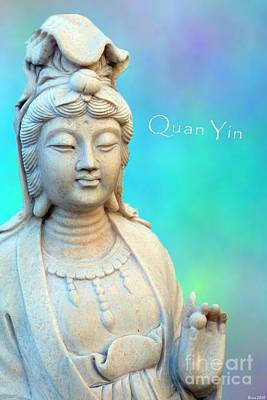 Photograph - Quan Yin In Sedona by Marlene Rose Besso