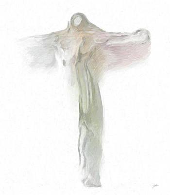 Crucify Digital Art Digital Art - Quantum Christ by Joaquin Abella