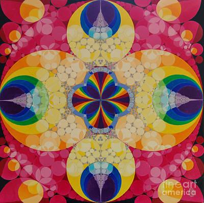 Quantum Faith Art Print by Nofirstname Aurora