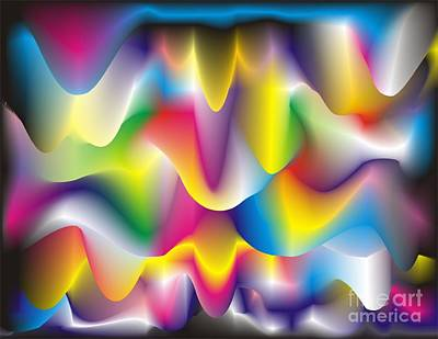 Quantum Landscape 1 Art Print