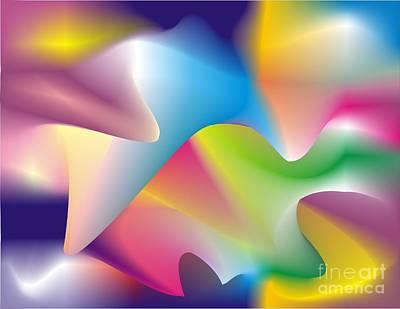 Quantum Landscape 2 Art Print