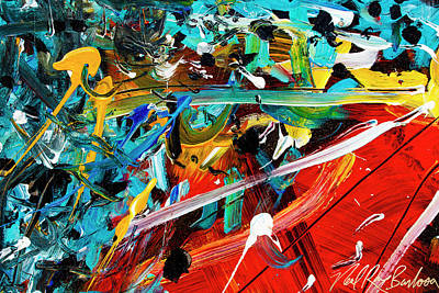 Painting - Quantum Malfunktion by Neal Barbosa