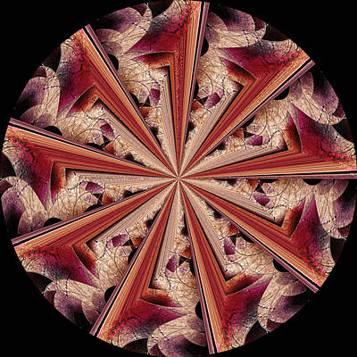 Digital Art - Quantum Tunnel by Susan Maxwell Schmidt