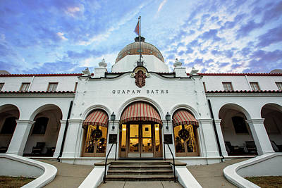 Byzantine Photograph - Quapaw Baths - Hot Springs by Stephen Stookey