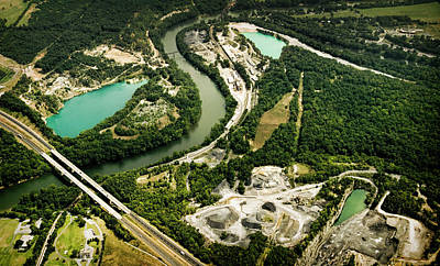 Photograph - Quarry And Shapes by Colleen Joy