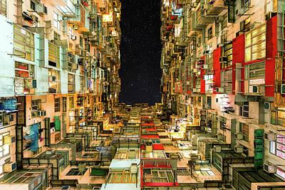 Photograph - Quarry Bay Apartment 2, Hong Kong by Jose Luis Vilchez