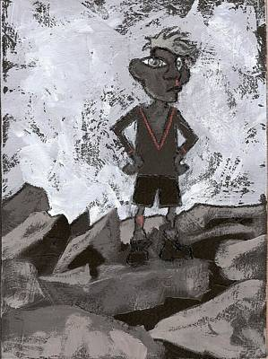 Painting - Quarry Kid by Joanne Claxton